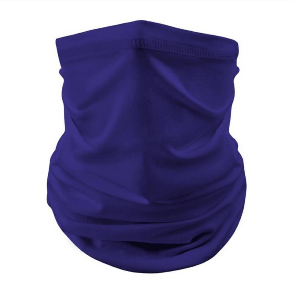 Royal Blue Solid Neck Gaiter Face Mask WOMEN - Accessories - Small Accessories Epretty Fashion Accessories Teskeys