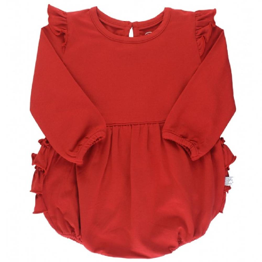 Ruffle Butts Flutter Bubble Romper KIDS - Baby - Baby Girl Clothing RUFFLE BUTTS/RUGGED BUTTS Teskeys