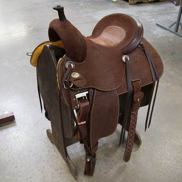 "14"" X 7.5"" MARTIN COWN C BARREL SADDLE Saddles - New Saddles - BARREL Teskeys Teskeys"