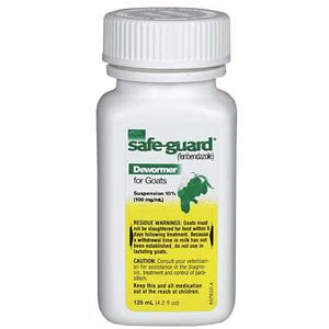 Safe-Guard Dewormer for Goats Farm & Ranch - Animal Care - Livestock - De-Wormer Teskeys Teskeys