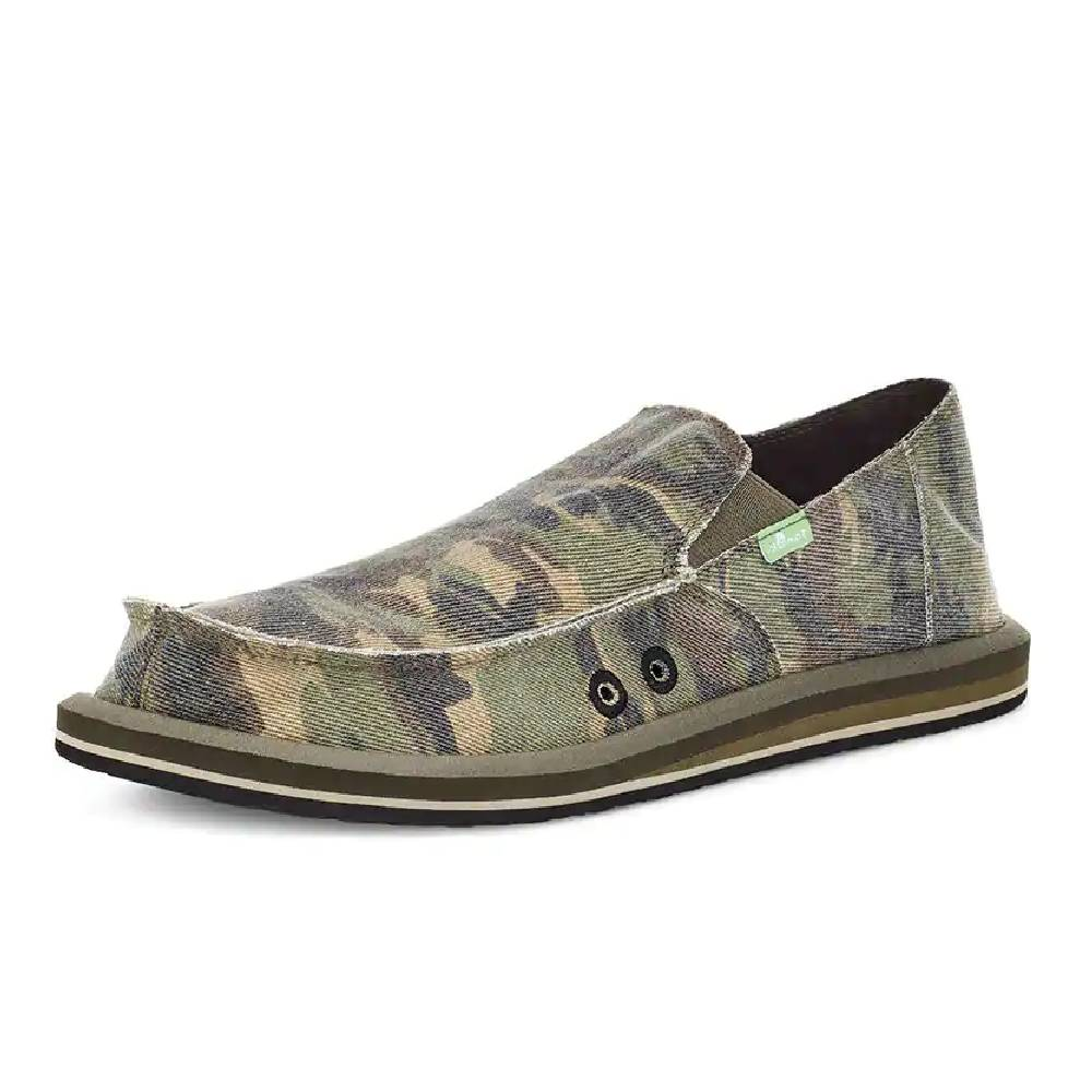 Sanuk Vagabond Camo Shoe MEN - Footwear - Casual Shoes SANUK Teskeys