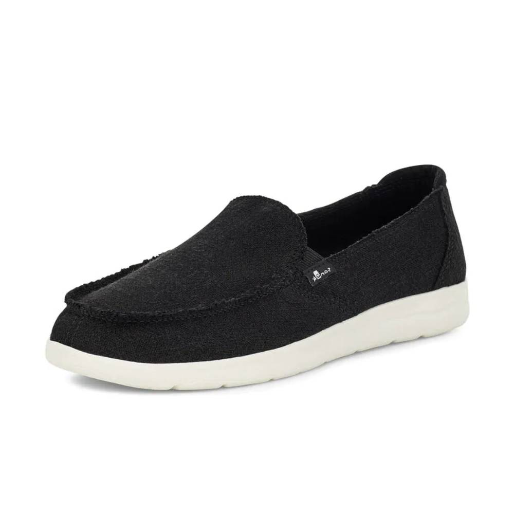 Sanuk Women's Donna Lite Tx Shoe - Black WOMEN - Footwear - Casuals SANUK Teskeys