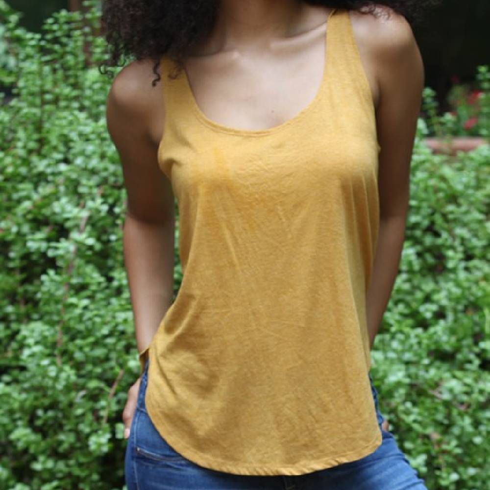 Marigold Scoop Neck Tank WOMEN - Clothing - Tops - Sleeveless ANGIE Teskeys