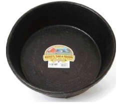 Miller Rubber Feed Pans Farm & Ranch - Barn Supplies - Buckets & Feeders Teskeys Teskeys