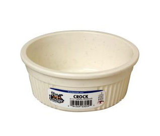 Crock Pet Bowl FARM & RANCH - Animal Care - Pets - Accessories - Feeders & Waters Teskeys Teskeys
