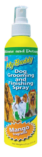 My Buddy Dog Grooming and Finishing Spray FARM & RANCH - Animal Care - Pets - Accessories - Grooming My Buddy Teskeys