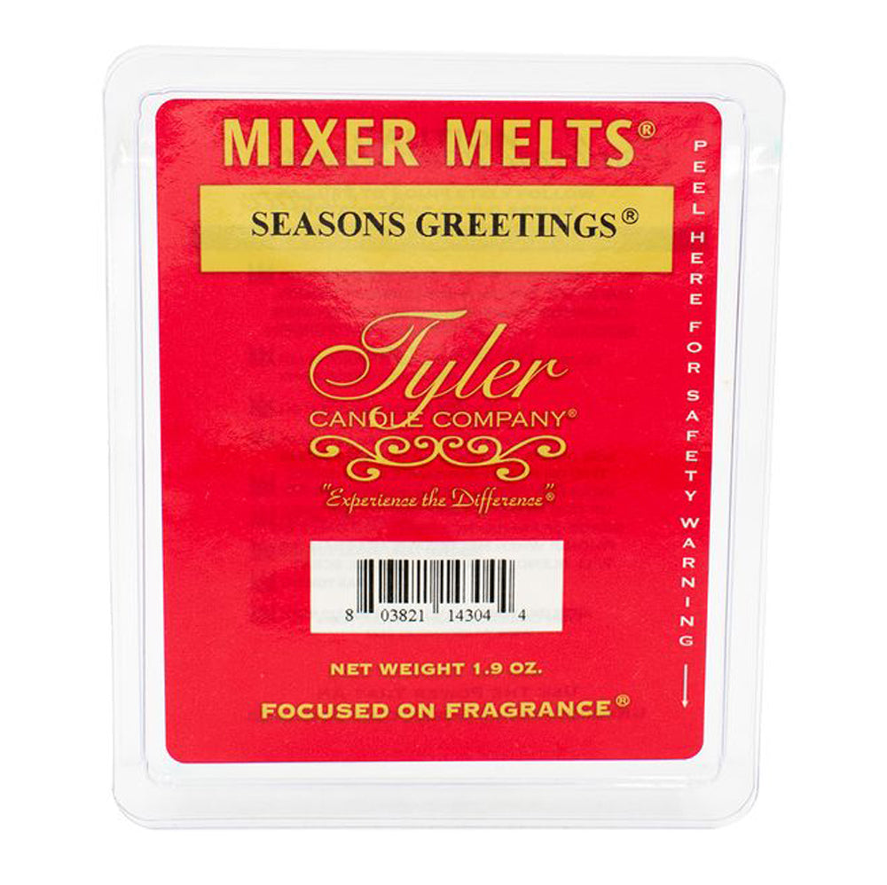 Season's Greetings Mixer Melt HOME & GIFTS - Home Decor - Candles + Diffusers TYLER CANDLE COMPANY Teskeys