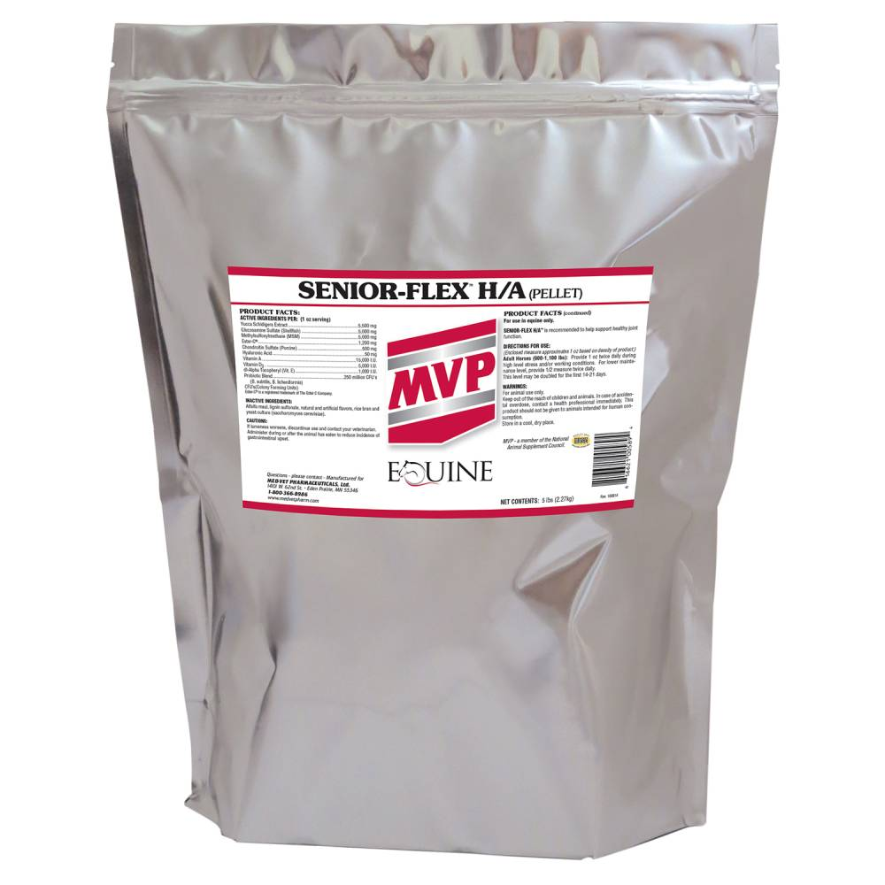 Senior Flex H/A Pellets FARM & RANCH - Animal Care - Equine - Supplements - Joint & Pain MVP Teskeys
