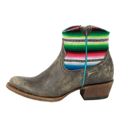 Serape Shorty Boots WOMEN - Footwear - Boots - Booties ANDERSON BEAN BOOT CO. Teskeys