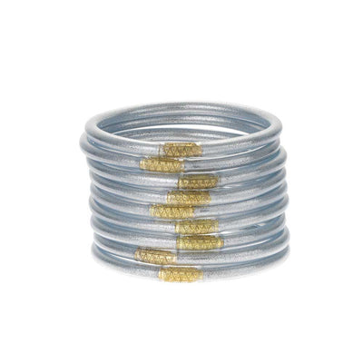 BuDhaGirl Silver All Weather Bangles WOMEN - Accessories - Jewelry - Bracelets BuDhaGirl LLC Teskeys