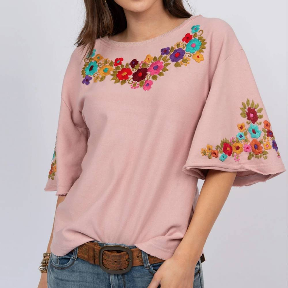 Sister Mary Flutter Sleeve Top