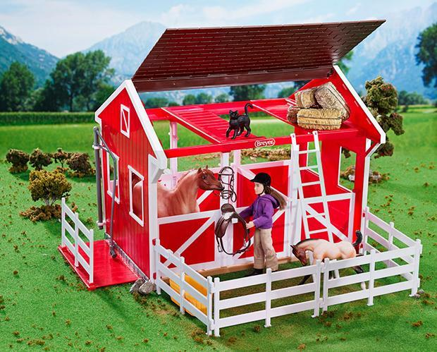 Breyer Spring Creek Stable FARM & RANCH - Toys and DVDs Teskeys Teskeys