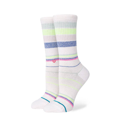 Stance Happy Thoughts Crew Socks WOMEN - Clothing - Intimates & Hosiery STANCE Teskeys