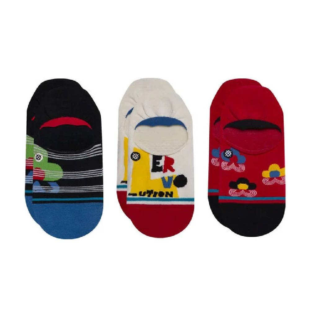 Stance Loverution No Show Socks - 3 Pack