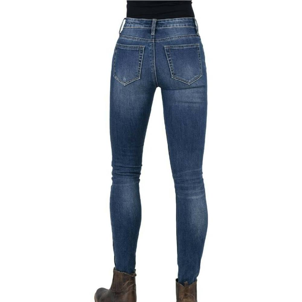 Stetson High Waist Slim Fit Jean WOMEN - Clothing - Jeans STETSON Teskeys