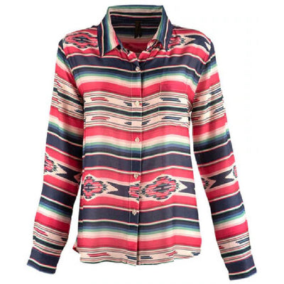 Stetson Serape Herringbone Top WOMEN - Clothing - Tops - Long Sleeved ROPER APPAREL & FOOTWEAR Teskeys