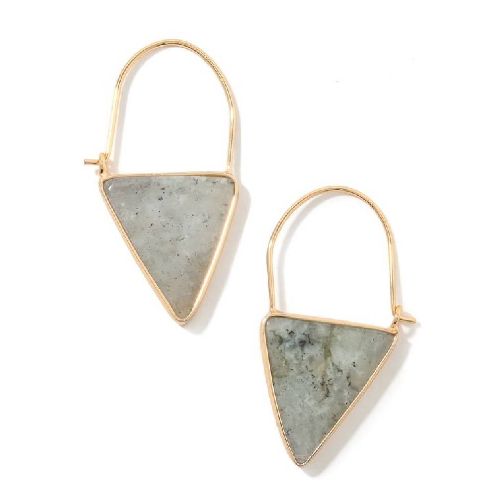 Stone Dangle Earring - Gray WOMEN - Accessories - Jewelry - Earrings ANARCHY STREET Teskeys