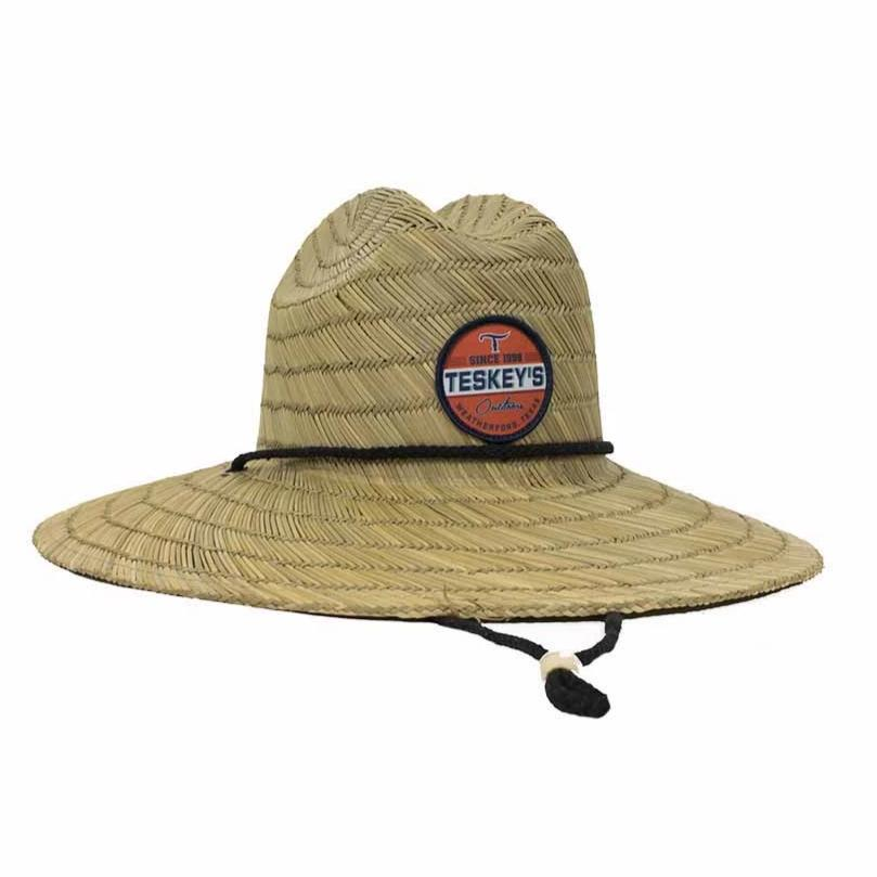 Teskey's Outdoors Straw Hat
