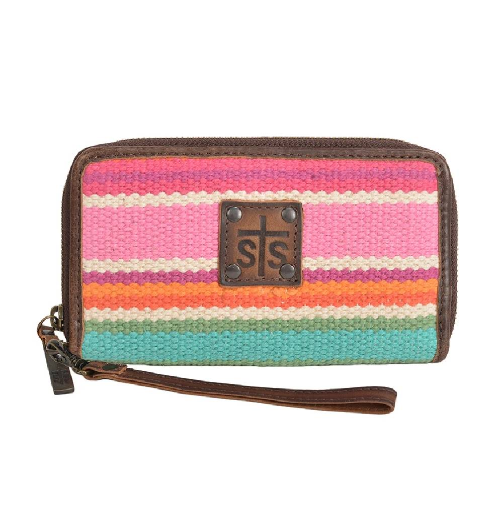 STS Ranchwear Cactus Serape Wrislet WOMEN - Accessories - Handbags - Clutches & Pouches STS Ranchwear Teskeys