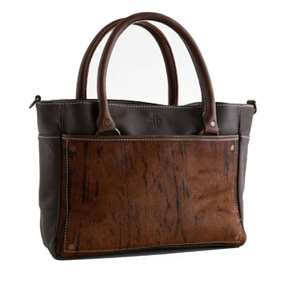 STS Ranchwear Brindle Satchel WOMEN - Accessories - Handbags - Tote Bags STS Ranchwear Teskeys