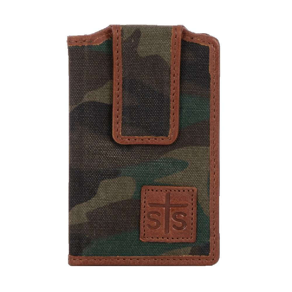 STS Ranchwear Camo Canvas Money Clip MEN - Accessories - Wallets & Money Clips STS Ranchwear Teskeys