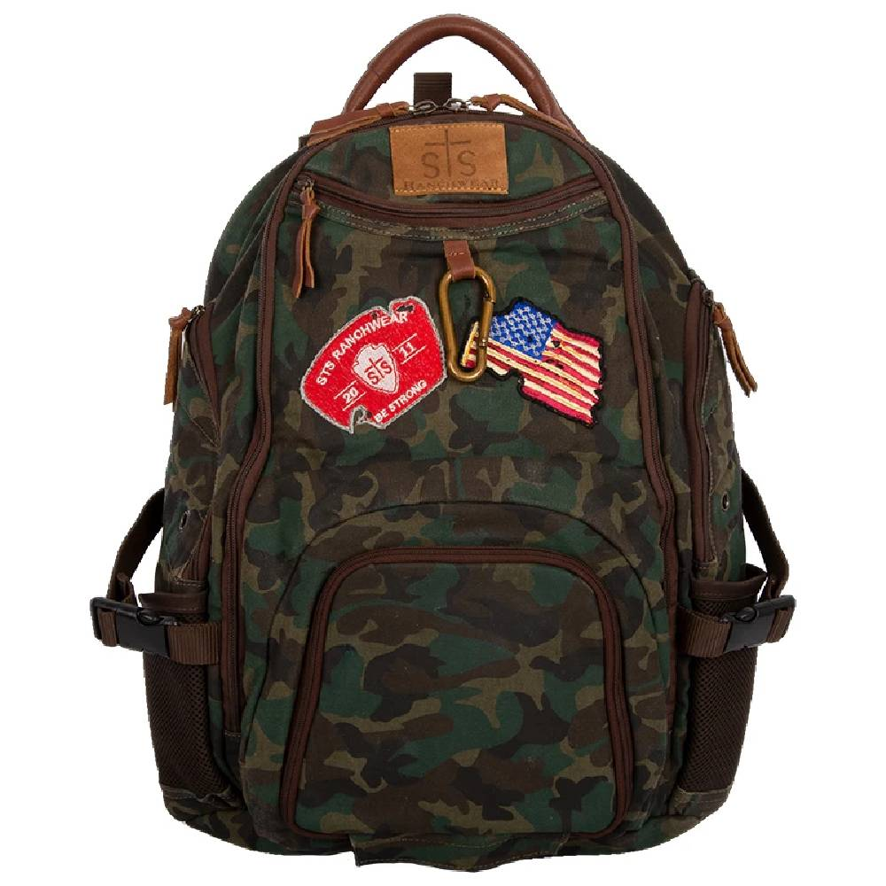 STS Ranchwear Camo Utility Backpack ACCESSORIES - Luggage & Travel - Backpacks & Belt Bags STS Ranchwear Teskeys