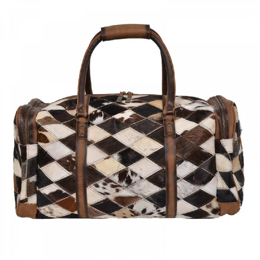 STS Ranchwear Diamond Cowhide Duffle WOMEN - Accessories - Handbags - Tote Bags STS Ranchwear Teskeys
