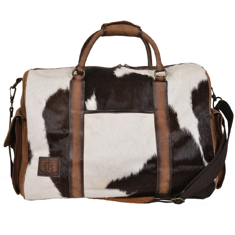 STS Ranchwear Cowhide Duffle Bag ACCESSORIES - Luggage & Travel - Duffle Bags STS Ranchwear Teskeys