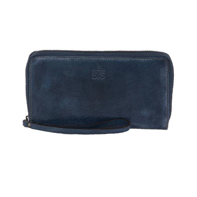 STS Ranchwear Denim Leather Bentley Wallet WOMEN - Accessories - Handbags - Wallets STS Ranchwear Teskeys
