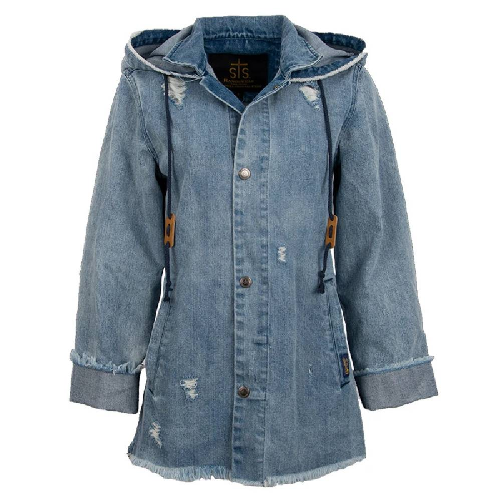 STS Ranchwear Shari Denim Jacket WOMEN - Clothing - Outerwear - Jackets STS Ranchwear Teskeys