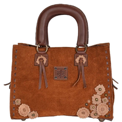 STS Ranchwear Sheridan Flower Satchel WOMEN - Accessories - Handbags - Tote Bags STS Ranchwear Teskeys