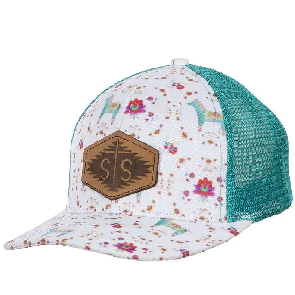STS Ranchwear Watercolor Donkey Cap HATS - BASEBALL CAPS STS Ranchwear Teskeys