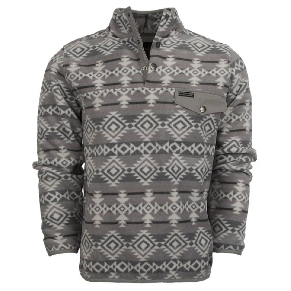 STS Ranchwear Unisex Aztec 1/4 Button Pullover MEN - Clothing - Outerwear - Vests STS Ranchwear Teskeys