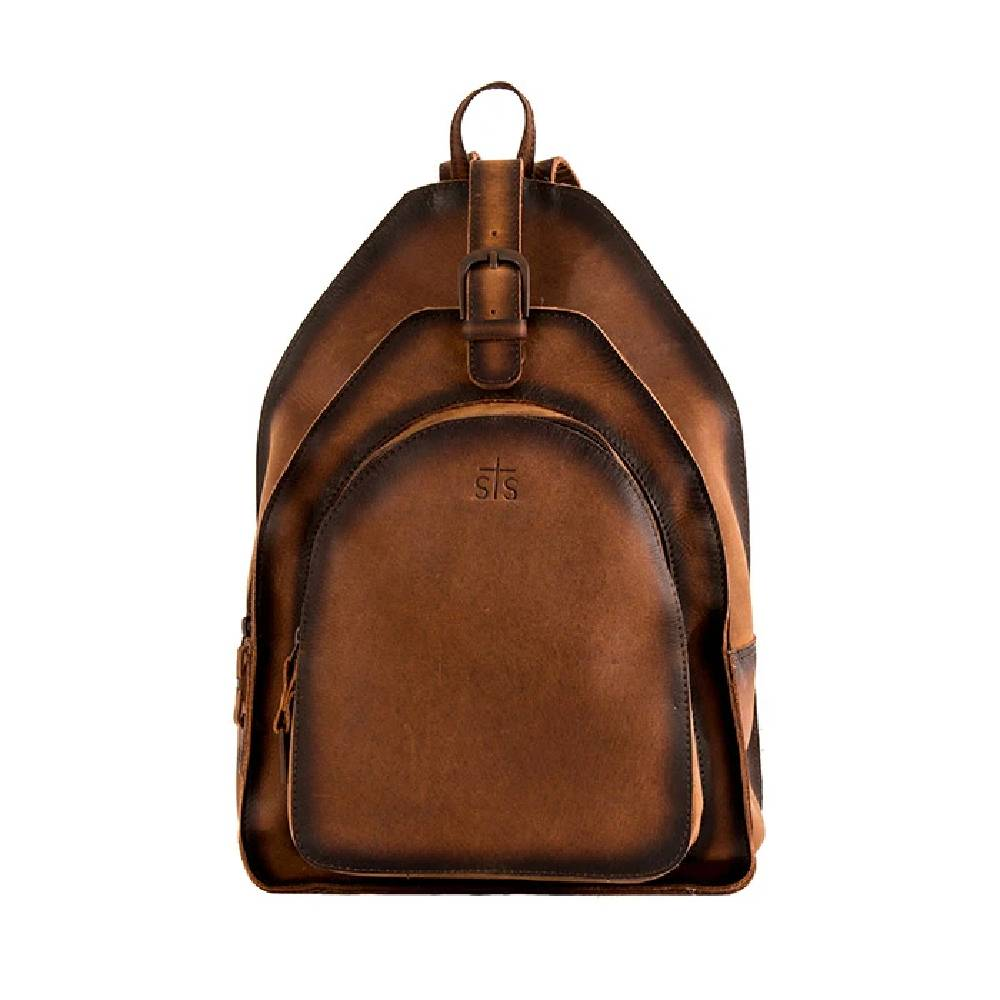STS Ranchwear Baroness Leather Backpack ACCESSORIES - Luggage & Travel - Backpacks & Belt Bags STS Ranchwear Teskeys