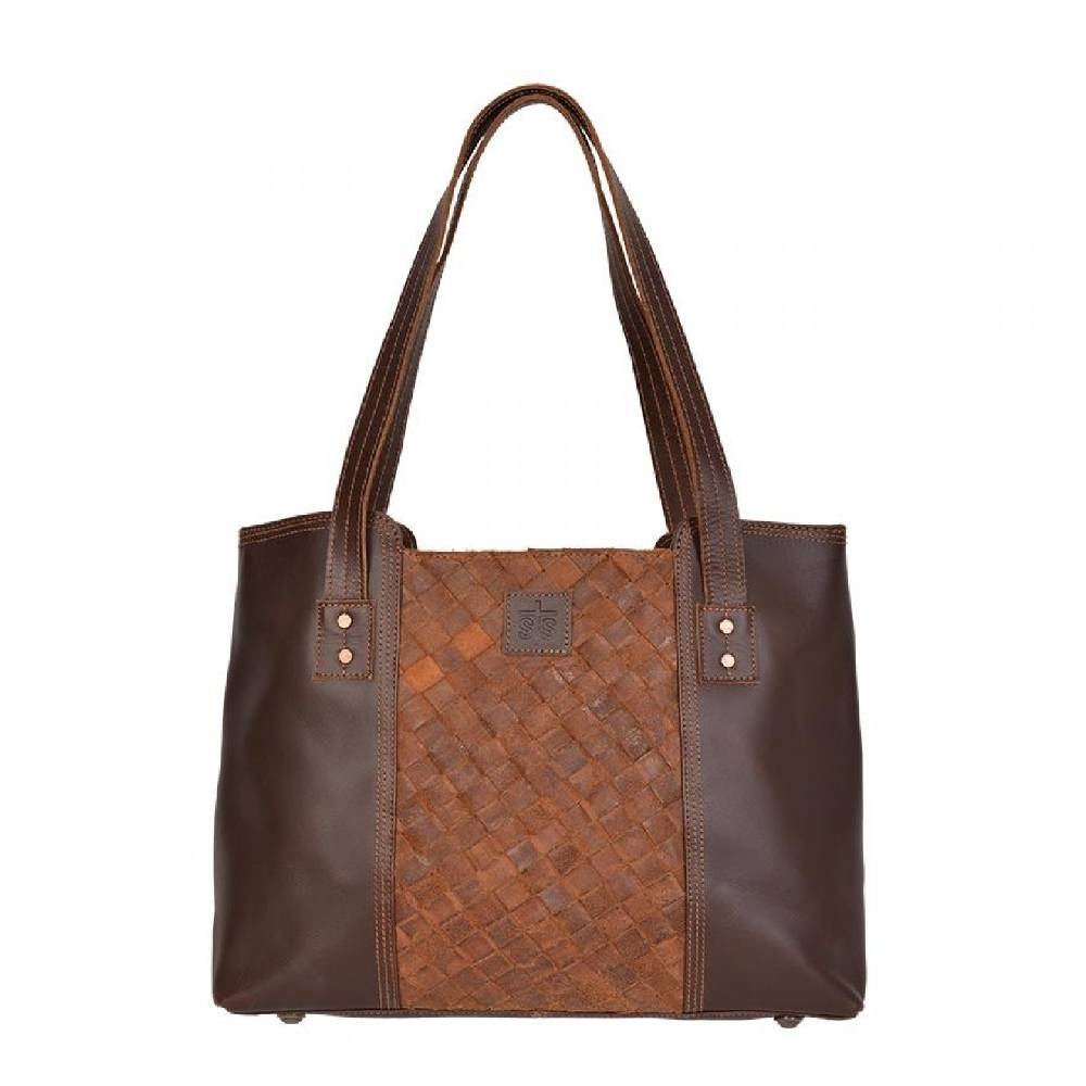 STS Ranchwear Basket Weave Small Tote WOMEN - Accessories - Handbags - Tote Bags STS Ranchwear Teskeys