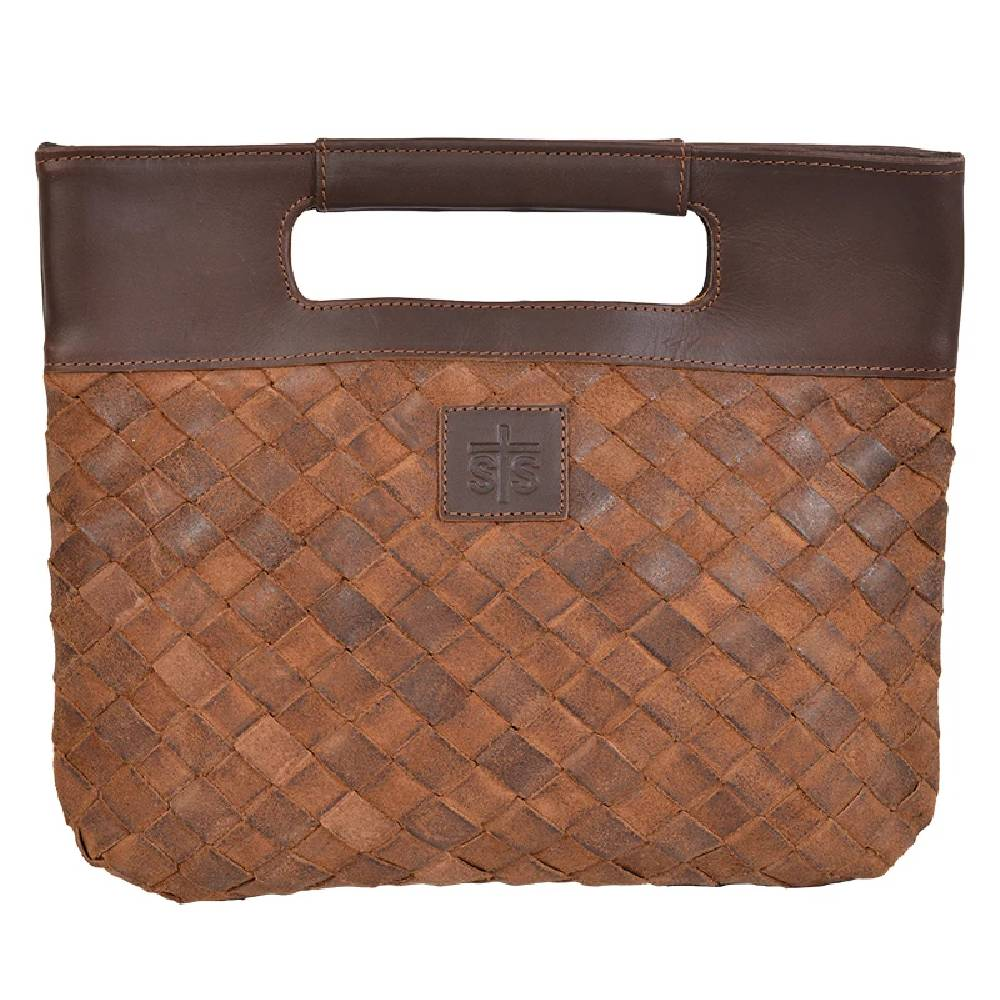 STS Ranchwear Basket Weave Flatrock Clutch WOMEN - Accessories - Handbags - Clutches & Pouches STS Ranchwear Teskeys