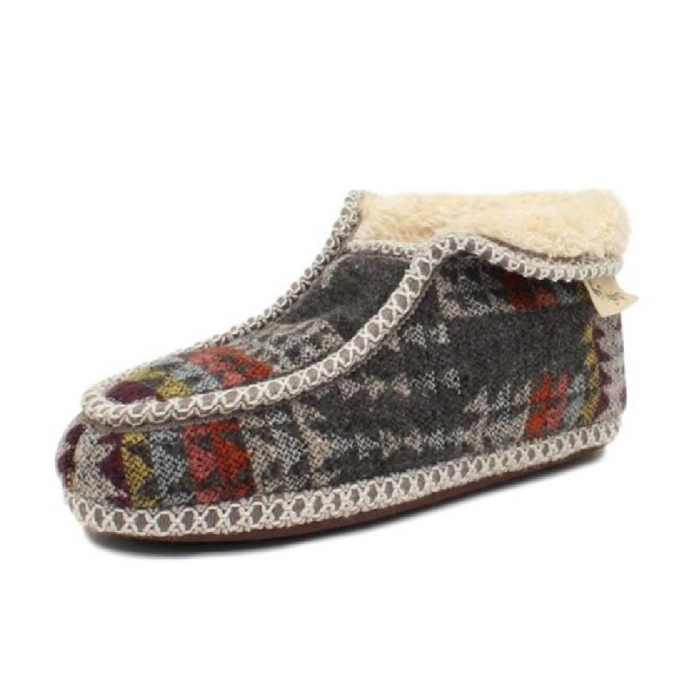 Blazin Roxx Taylor Fur Ankle Slipper WOMEN - Footwear - Casuals M&F Western Products Teskeys
