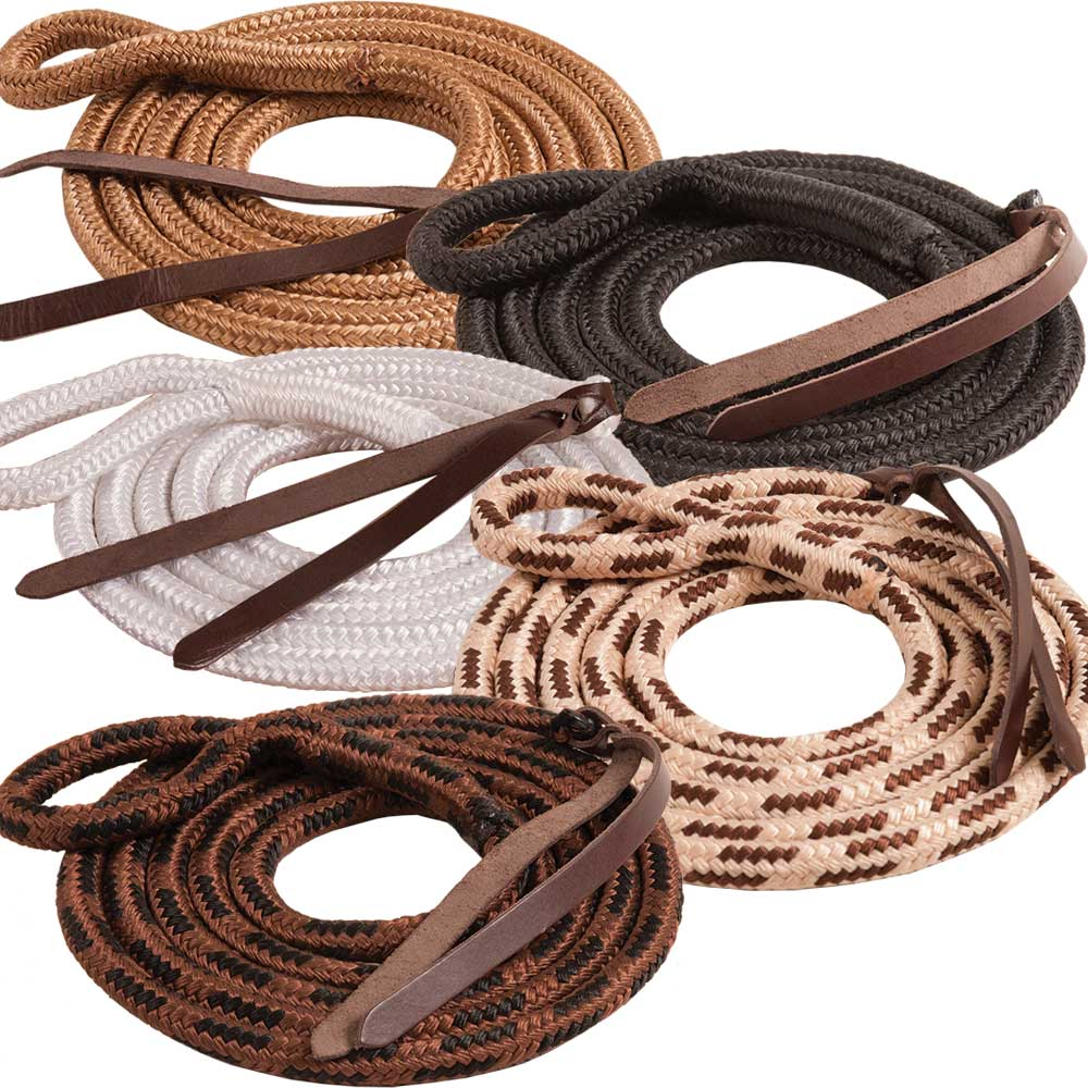 Cowboy Eye-Slide 9' Lead Rope Tack - Halters & Leads - Leads Mustang Teskeys