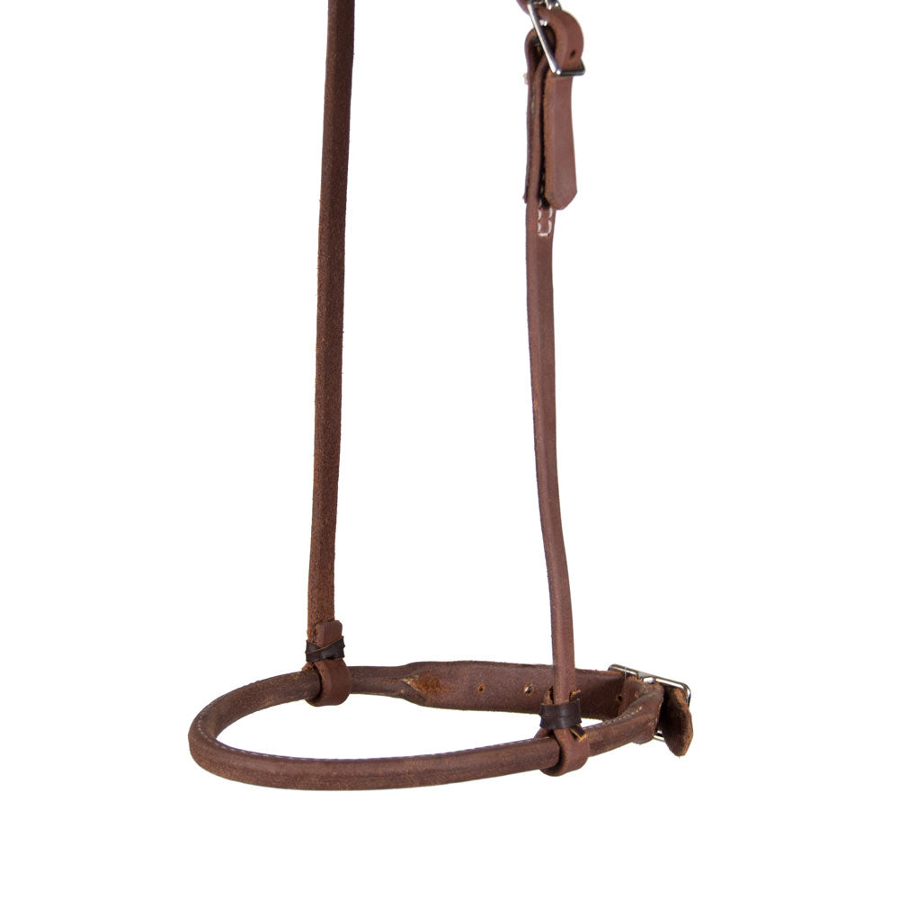 Teskey's Rolled Cavesson Tack - Nosebands & Tie Downs Teskeys Teskeys