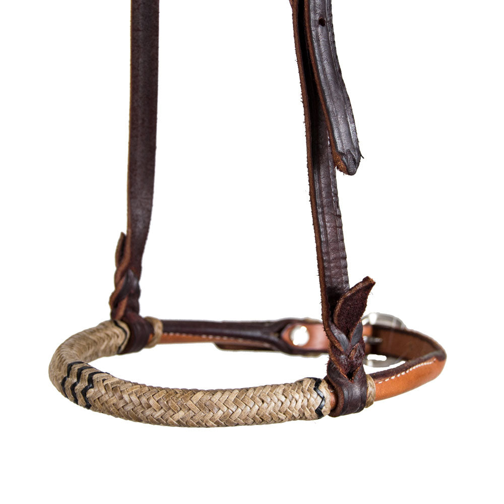 Teskey's Harness Cavesson with Rawhide Tack - Nosebands & Tie Downs Teskey's Teskeys