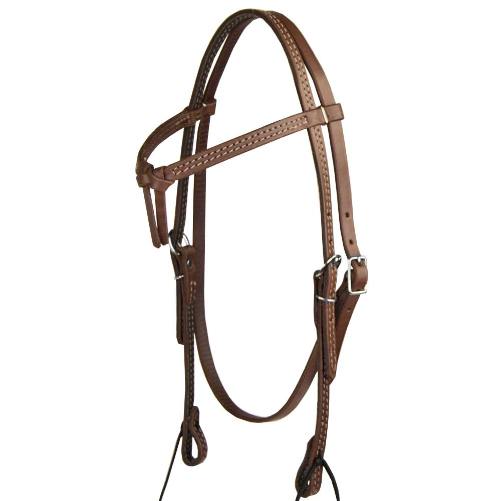 Teskey's Crossover Browband Headstall Tack - Headstalls - Browband Teskey's Teskeys