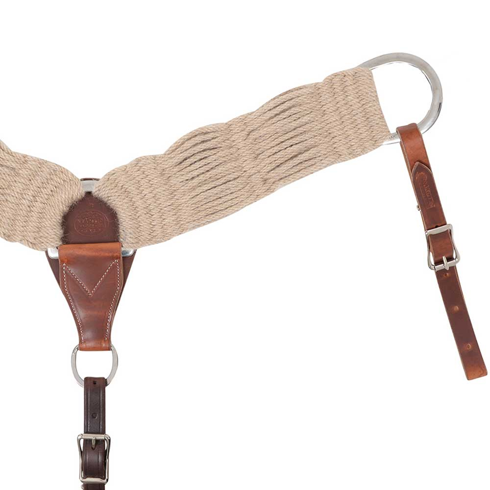 Martin Saddlery Mohair Breastcollar Tack - Breast Collars Martin Saddlery Teskeys