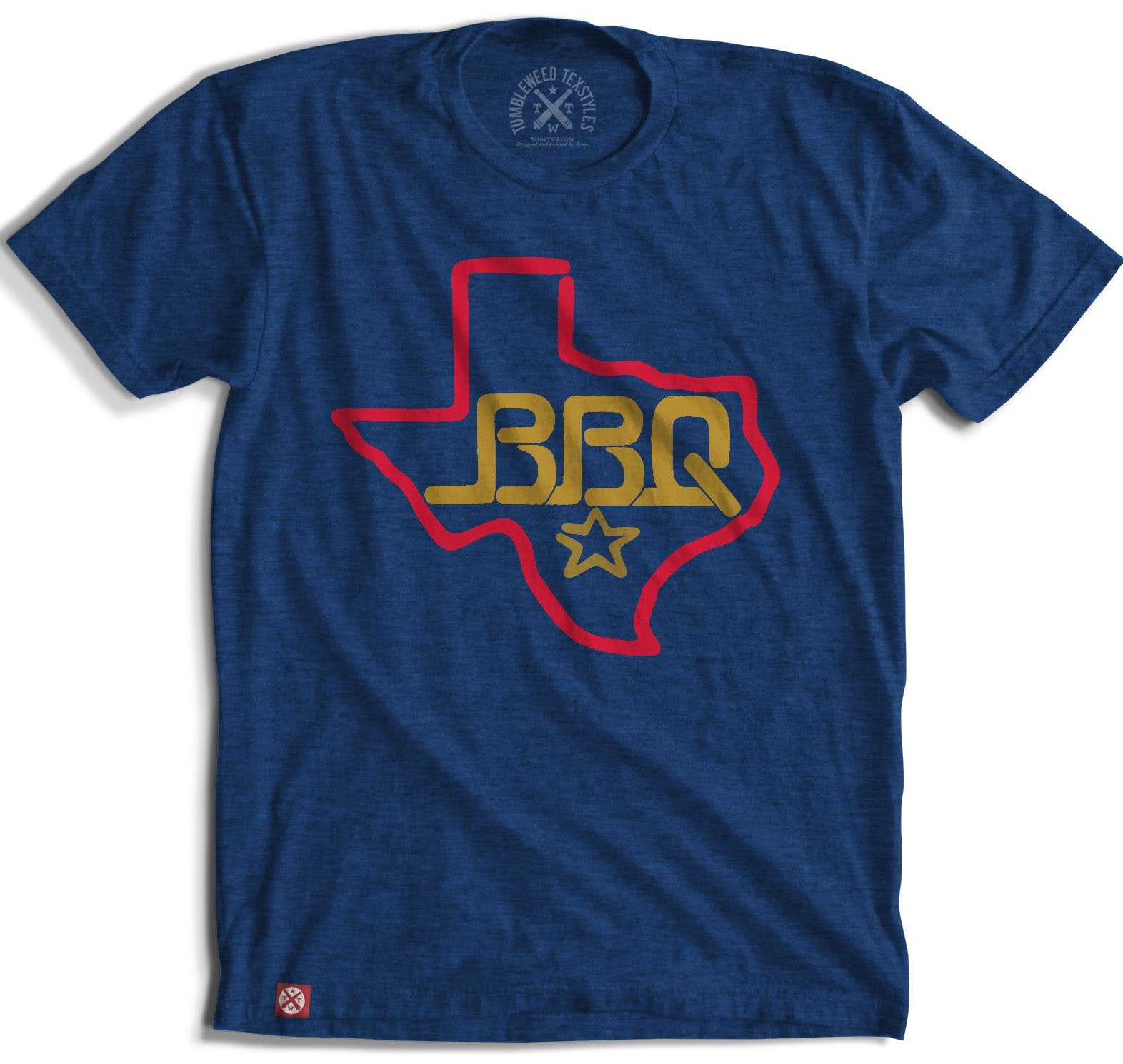 Texas BBQ T-Shirt MEN - Clothing - T-Shirts & Tanks TUMBLEWEED TEXSTYLES Teskeys