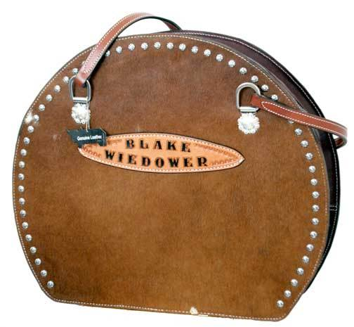 Teskey's Trophy Cowhide Ropebag with Sunspots