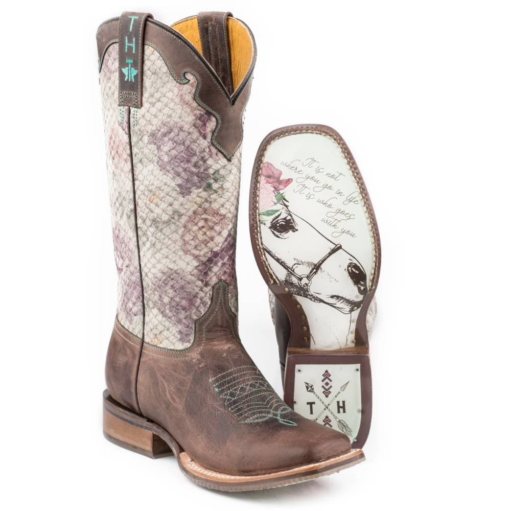 Tin Haul Rosaliscio Boot WOMEN - Footwear - Boots - Western Boots ROPER APPAREL & FOOTWEAR Teskeys