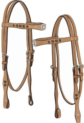 Trophy Headstall #3 CUSTOMS & AWARDS - HEADSTALLS Teskeys Teskeys