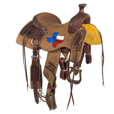 TROPHY DALLY HORN RANCH CUTTING SADDLE #38 CUSTOMS & AWARDS - SADDLES Teskeys Teskeys