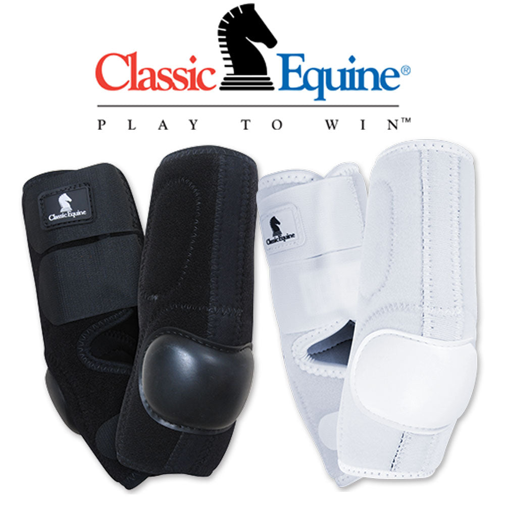 Classic Equine Neoprene Skid Tack - Leg Protection - Skid Boots Classic Equine Teskeys