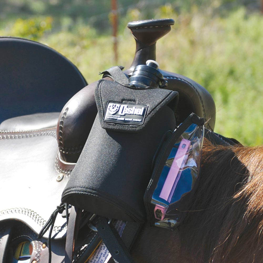 Cashel Bottle / GPS Holder Tack - Saddle Accessories Cashel Teskeys