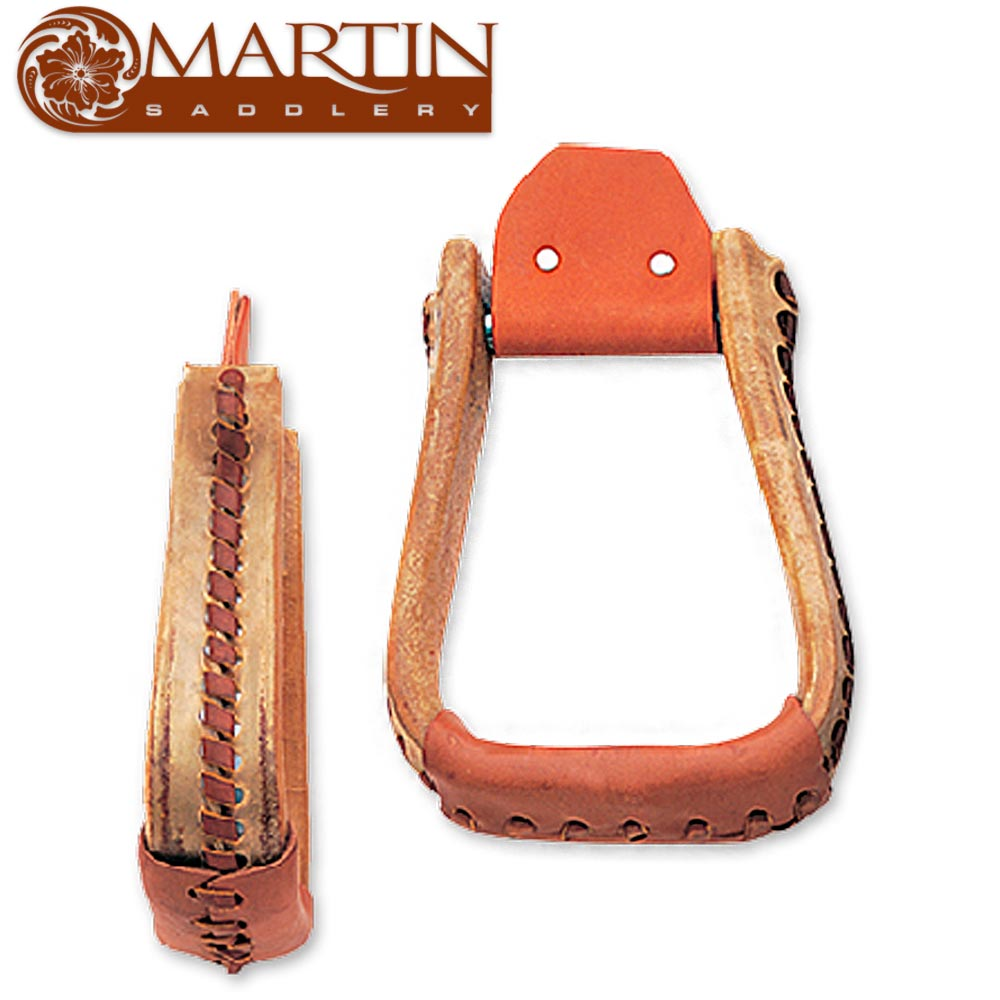 "Martin Saddlery Roper Stirrup: 2"" Deep Saddles - Saddle Accessories Martin Saddlery Teskeys"